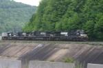 Westbound mail train